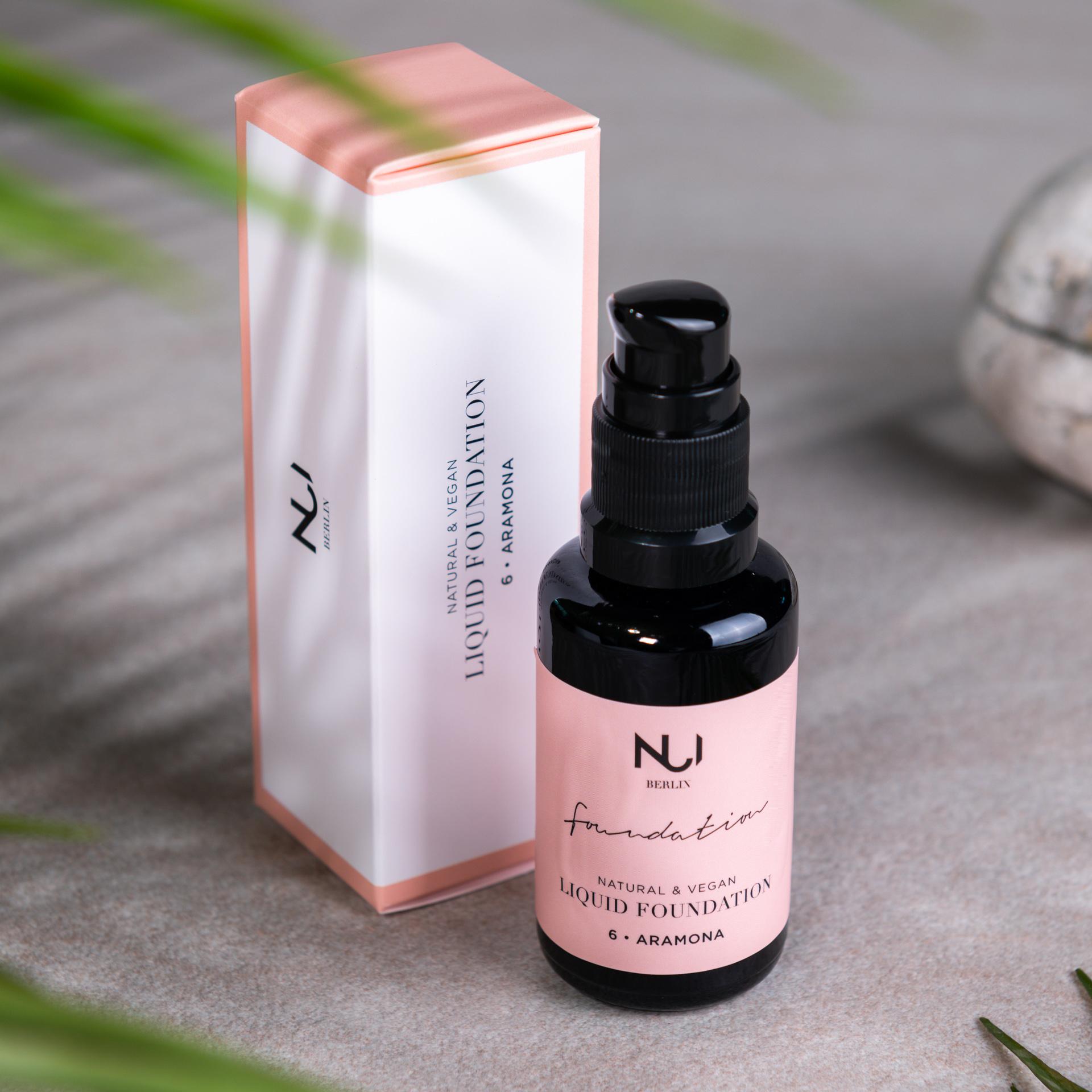 NUI Natural Liquid Foundation 06 ARAMONA