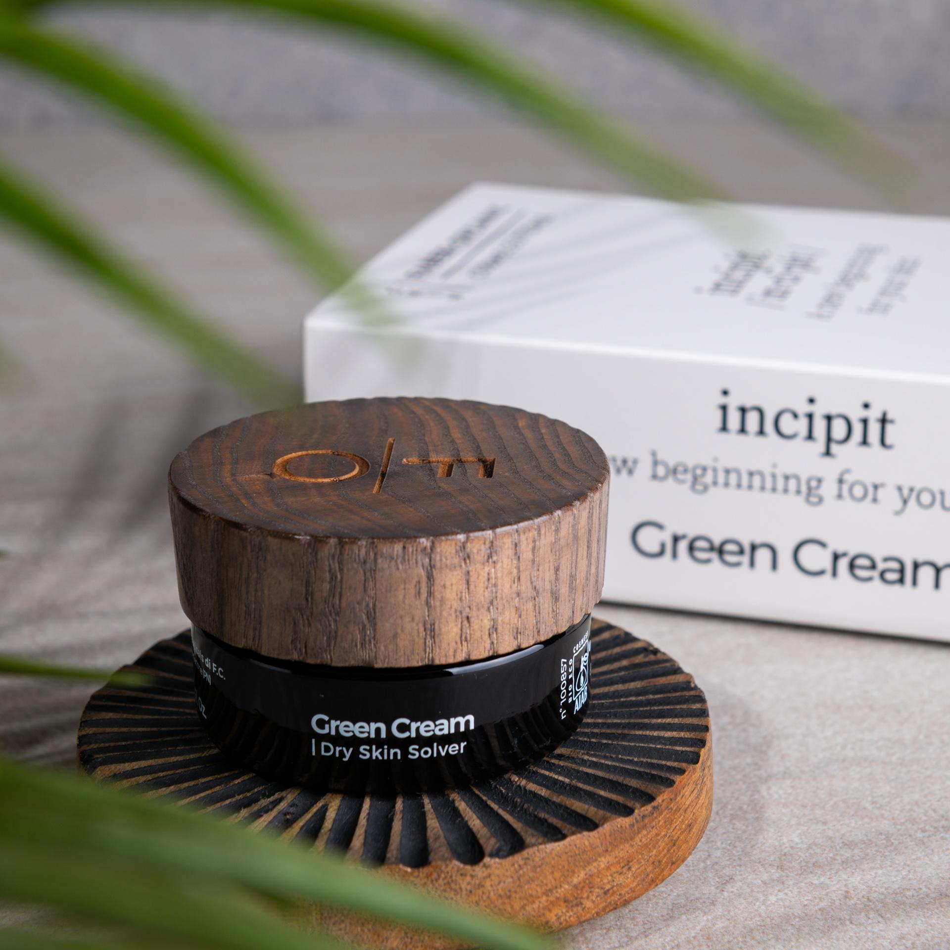 Green Cream - Dry Skin Solver