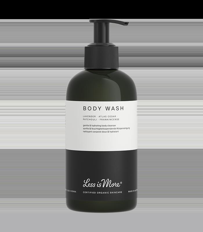 Body Wash Lavender · Atlas Cedar · Patchouli · Frankincense