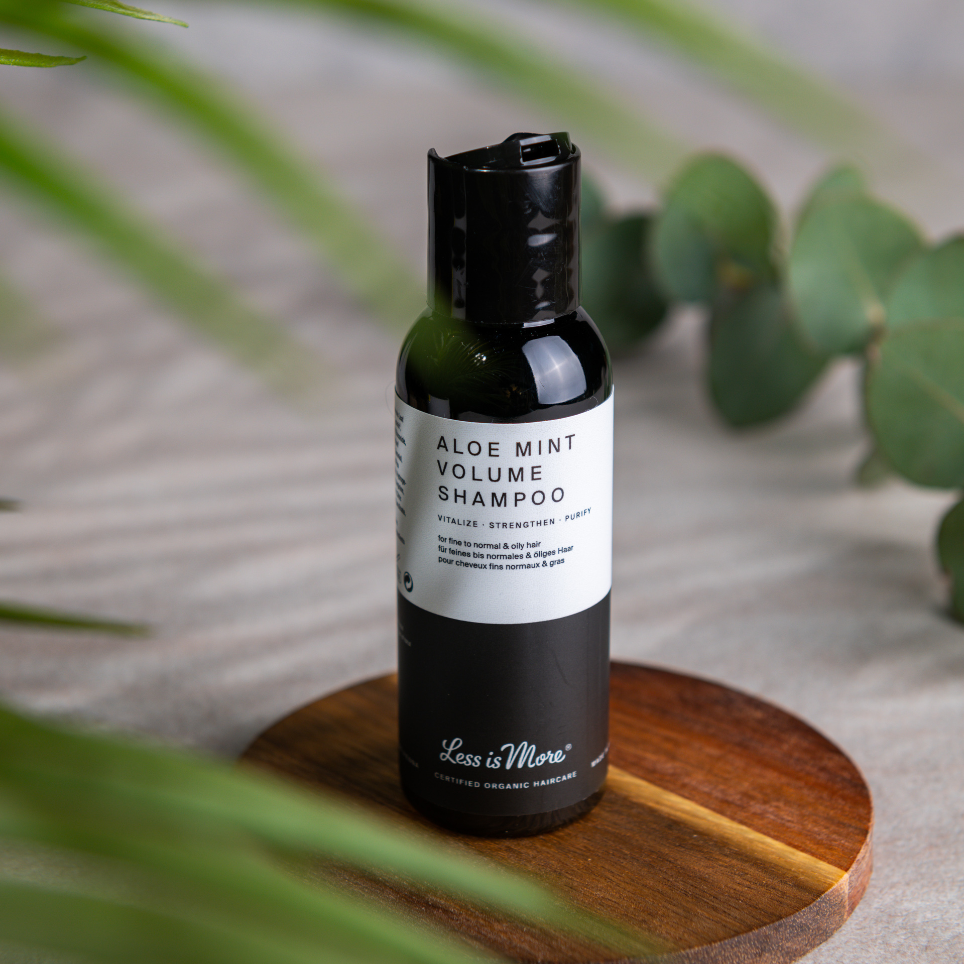 Aloe Mint Volume Shampoo Travel Size