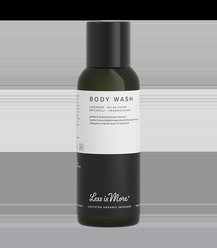 Body Wash Lavender · Atlas Cedar · Patchouli · Frankincense Travel Size